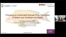 Choosing an automate sample prep technique to match your analytes and matrix