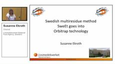 Analyzing Pesticide Residues: A Presentation by Susanne Ekroth