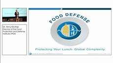 Protecting Your Lunch: Global Food Complexity