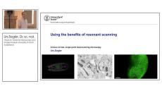 The Benefits of Resonant Scanning
